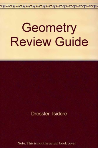 9780877202158: Geometry Review Guide