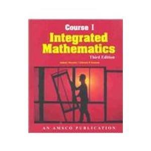9780877202288: Integrated Mathematics: Course 1 (12-12769)