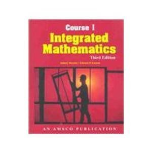 9780877202288: Integrated Mathematics: Course 1 (12-12769)