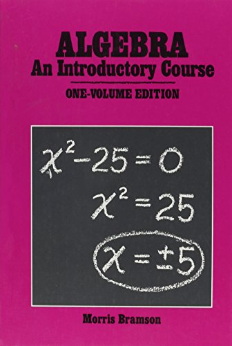 9780877202615: Algebra: An Introductory Course (Gr 7-9)