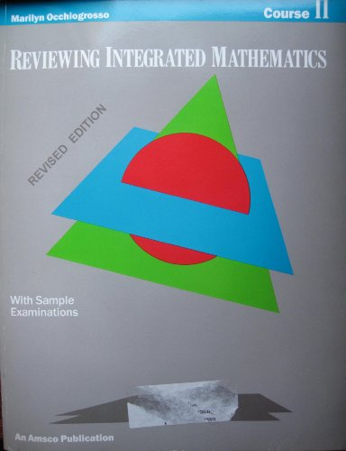 9780877202769: Reviewing Integrated Mathematics Course 2