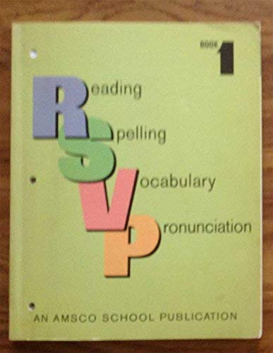 RSVP: Reading, Spelling, Vocabulary, Pronunciation, Book 1: Lewis, Norman
