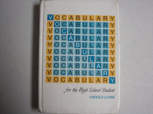 9780877204459: Vocabulary for the High School Student