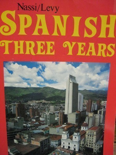 9780877205081: Spanish Three Years Review Text