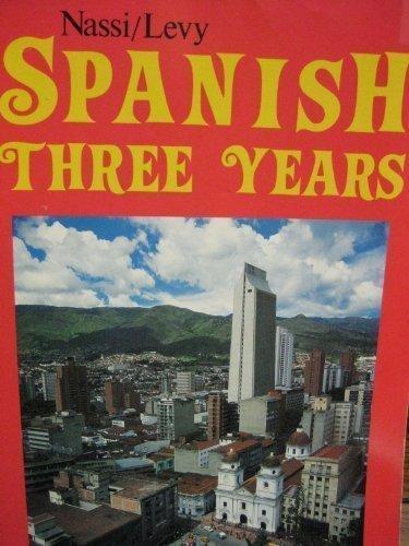 9780877205371: Spanish Three Years Review Text
