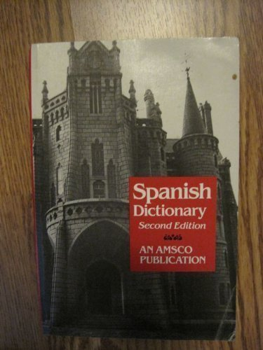 9780877205388: New College Spanish and English Dictionary (An Amsco school publication)