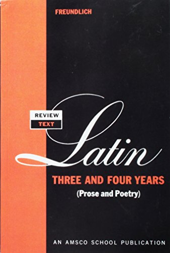 Review Text in Latin Three and Four