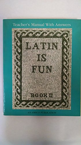 9780877205678: Latin Is Fun Book 2: Teacher's Manual with Answers