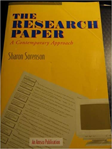 The Research Paper: Sorenson, Sharon