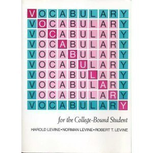 9780877207689: Vocabulary for the College Bound Student