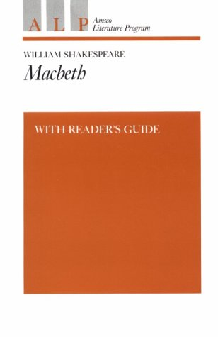 Macbeth With Readers Guide: Shakespeare, William