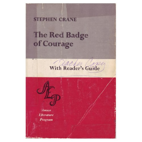 9780877208112: Red Badge of Courage With Reader's Guide