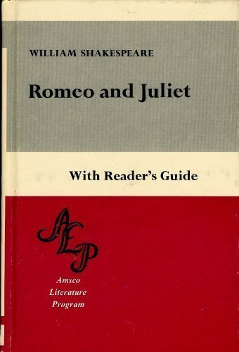 9780877208280: Romeo and Juliet With Reader's Guide