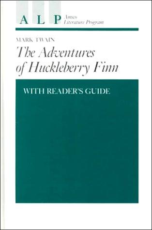 9780877208297: Adventures of Huckleberry Finn With Reader's Guide (Amsco Literature Program Series Grade 7-12)