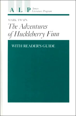 9780877208297: Adventures of Huckleberry Finn With Reader's Guide (Amsco Literature Program Series Grade 7-12)