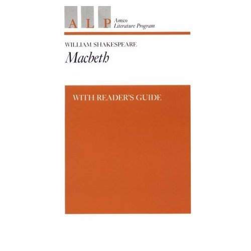 9780877208358: Macbeth: With Readers Guide