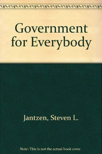 9780877208624: Government for Everybody