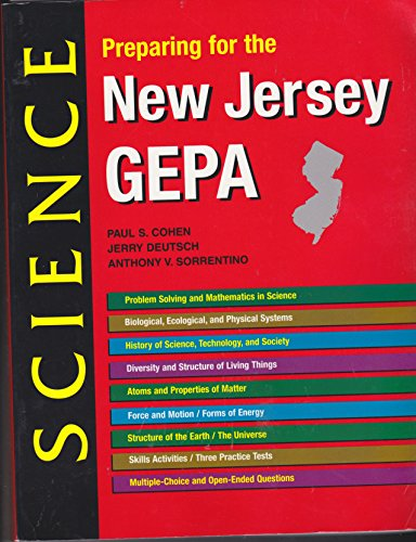 9780877209423: Preparing for the New Jersey GEPA Science