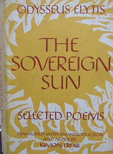 9780877220190: Sovereign Sun: Selected Poems