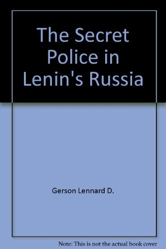 The secret police in Lenin's Russia