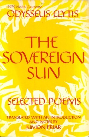 9780877221135: The Sovereign Sun: Selected Poems
