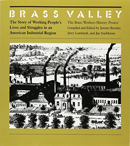 9780877222712: Brass Valley: The Story of Working People's Lives and Struggles in an Industrial Region