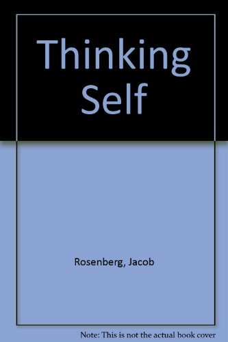 9780877224341: The Thinking Self