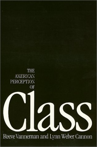 9780877225935: The American Perception of Class (Labor and Social Change)