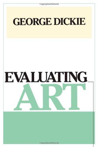 9780877225973: Evaluating Art