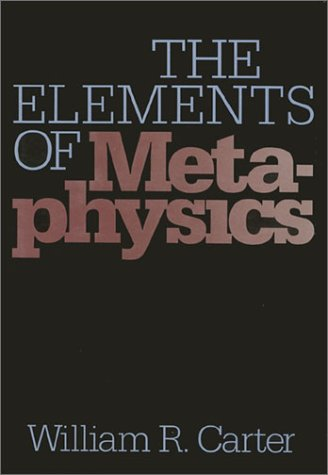 9780877226192: The Elements of Metaphysics (The Heritage series in philosophy)