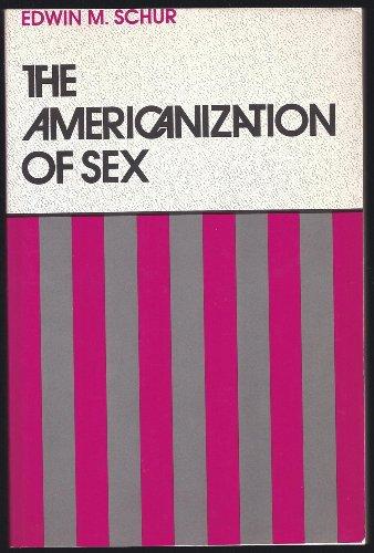 9780877226338: Americanization Of Sex