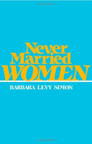 9780877226710: Never Married Women (Women In The Political Economy)