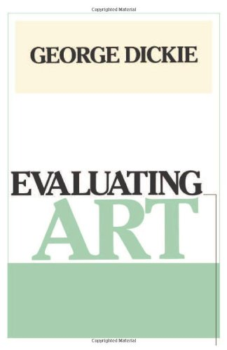 9780877226833: Evaluating Art