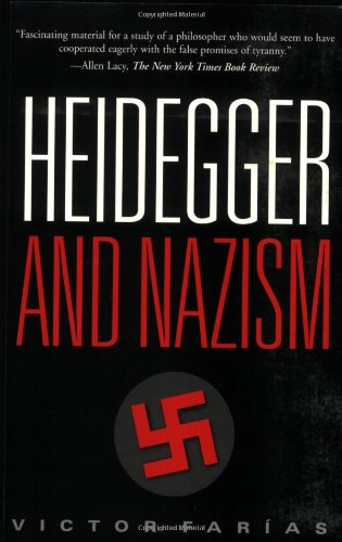 9780877228301: Heidegger And Nazism
