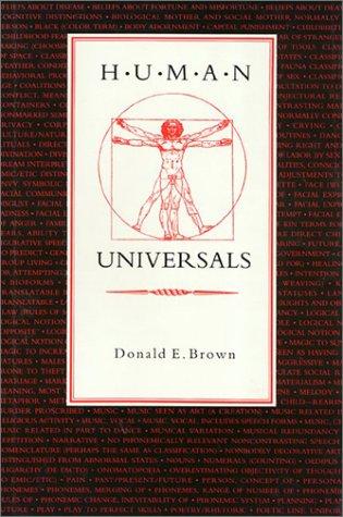 9780877228417: Human Universals