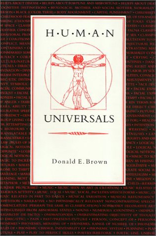 Human Universals: Donald E Brown