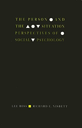 9780877228516: The Person and the Situation: Perspectives of Social Psychology