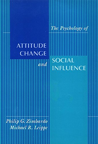 9780877228523: The Psychology of Attitude, Change and Social Influence