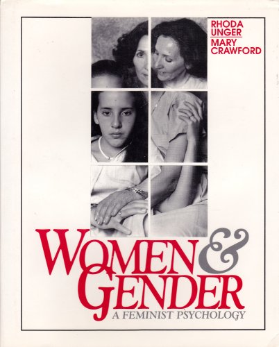 9780877228974: Women and Gender: A Feminist Psychology