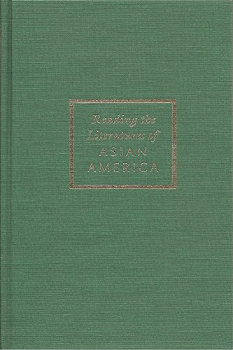 9780877229353: Reading the Literatures of Asian America (Asian American History & Culture)
