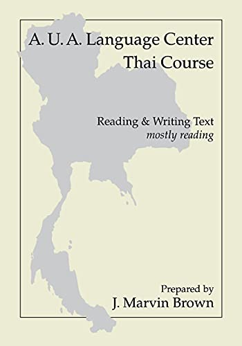 9780877275114: A.U.A. Language Center Thai Course: Reading and Writing--Mostly Reading