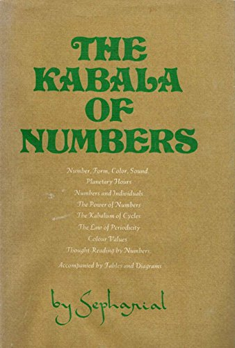 9780877280248: The Kabala of Numbers: The Original Source Book in Numerology