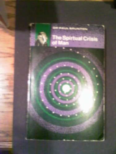 9780877280828: The Spiritual Crisis of Man