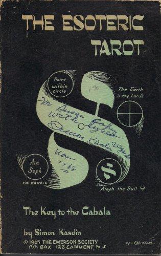 9780877281276: The Esoteric Tarot - The Key to the Cabala