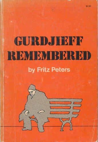9780877281429: GURDJIEFF REMEMBERED