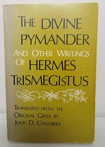 The divine Pymander, and other writings of Hermes Trismegistus 9780877281931 Book by Hermes Trismegistus