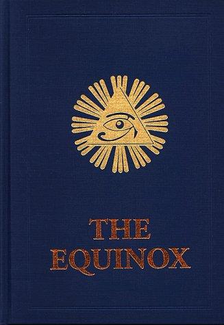 9780877282105: The Equinox Volume 3 Number 1