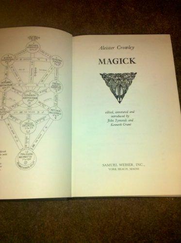 9780877282549: Magick