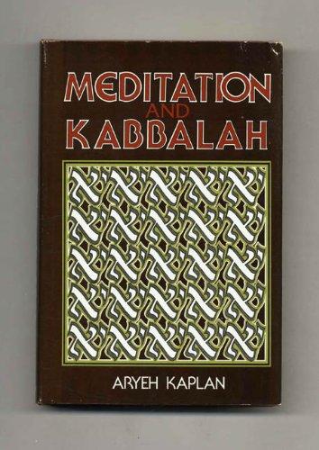 9780877283652: Meditation and Kabbalah