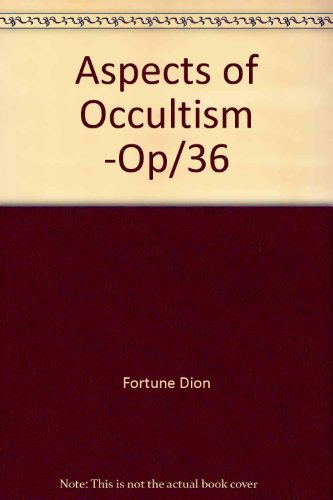 9780877283850: Aspects of Occultism -Op/36